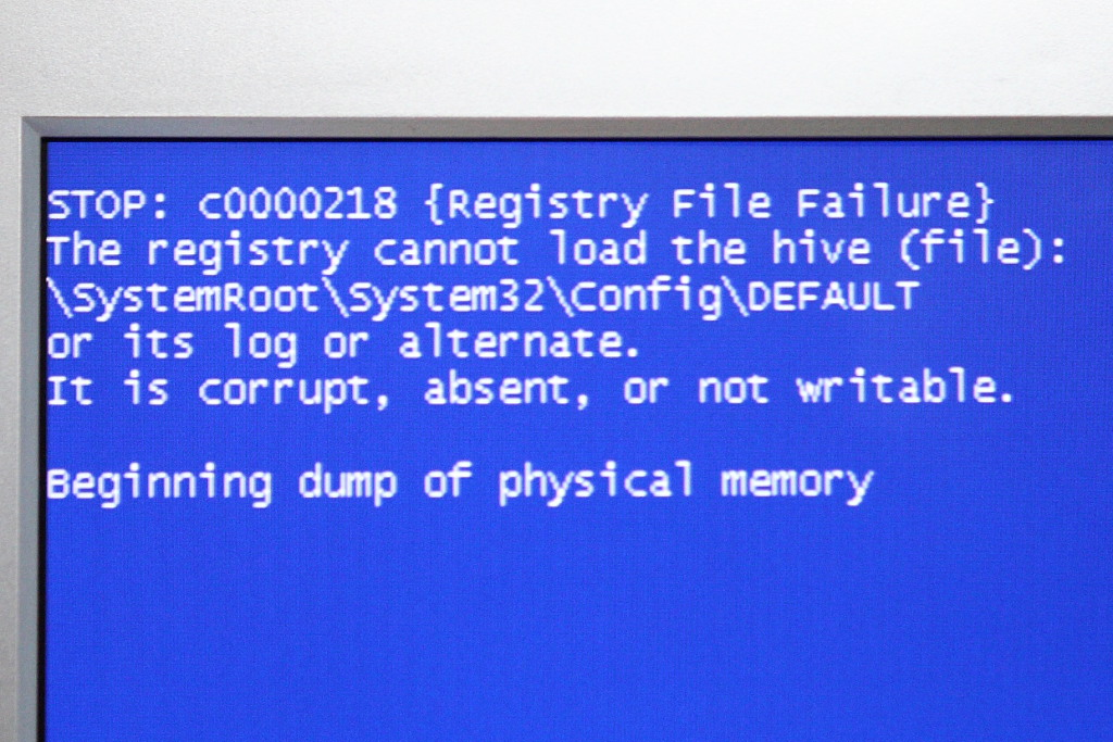 BSOD 2K XP Vista Reboot Loop Stuck Recovery guide