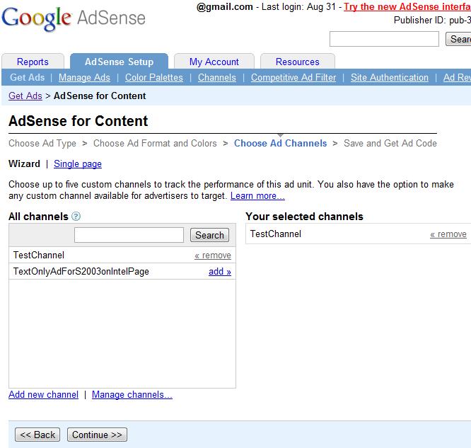 Making Google's Adsense Work on your Website