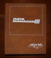 Data Manager /// for the Apple ///