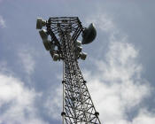 Michigan Department of Transportation (MDOT) traffic data microwave tower