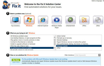 FixIt for Windows Update